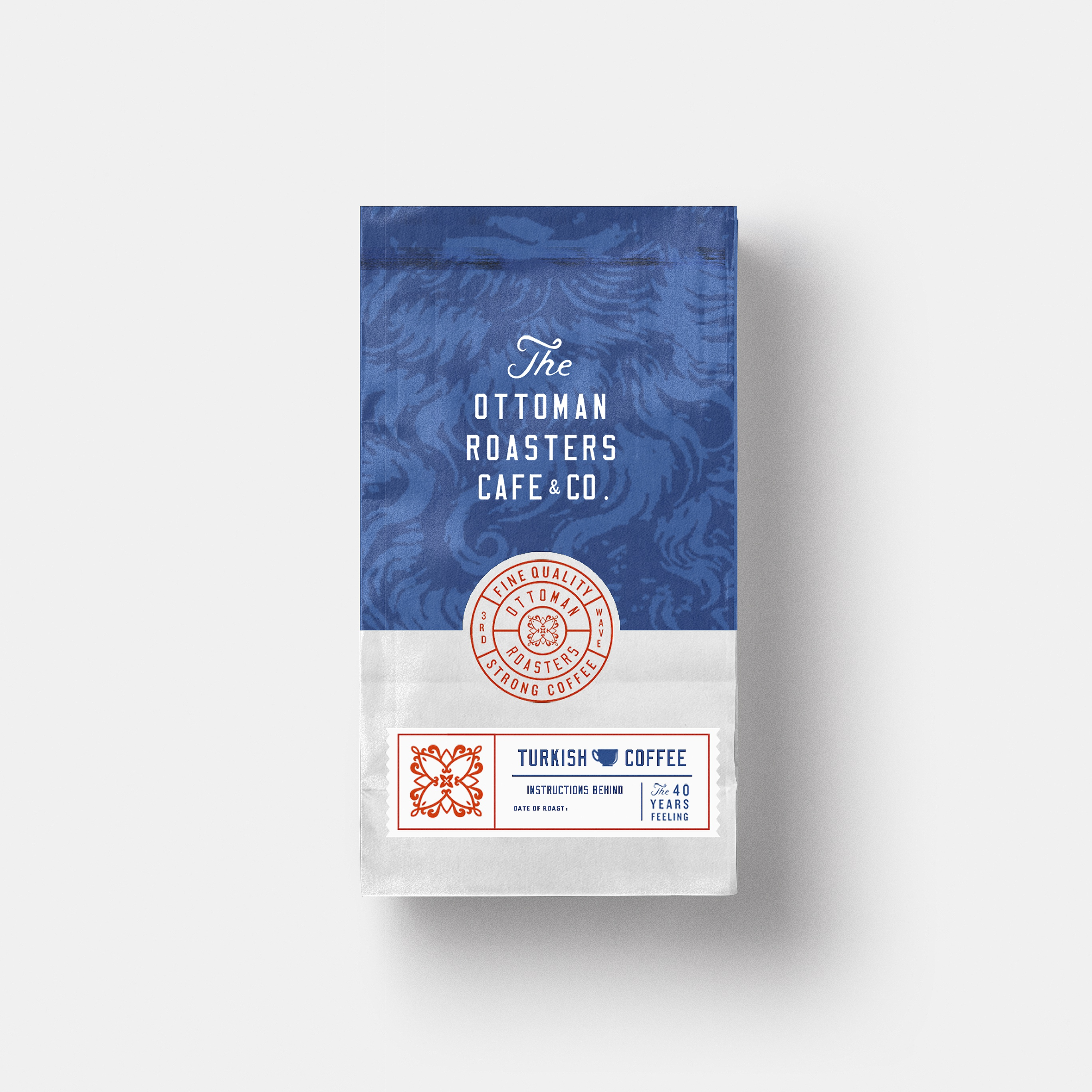 Dribbble ottoman roasters zeki michael turkish coffee roasting design graphic young freelance packag