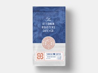 The Ottoman Roasters Packaging badge lettering label packaging concept coffee branding typography logo identity illustration
