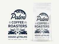 Palm Coffee Roasters House Packaging