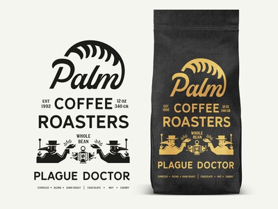 Palm Coffee Roasters Plague Doctor