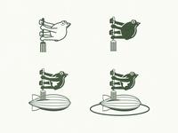 Zeplin Logo Process