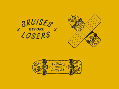Bruises Before Losers