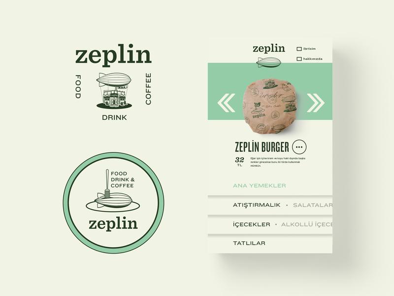 Zeplin order page flat website ux app vector craft badge vintage lettering identity design concept icon illustration logo branding packaging web screen ui