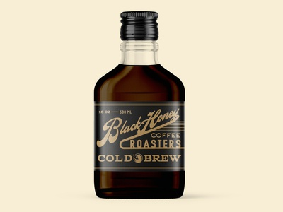 Cold Brew Glass Bottle