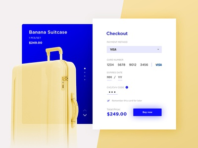 Credit Card Checkout dailyui dailyui002  web design ui form checkout form sign in sign up daily ui web ux ui design credit card checkout