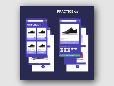 Shoes E-Commerce User Interface