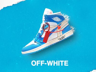 Off-White UNC Shoe