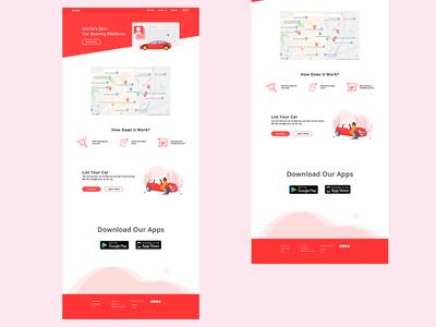 Car Rental Website Alternative Concept