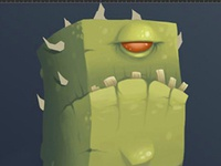 Green dude (WIP)