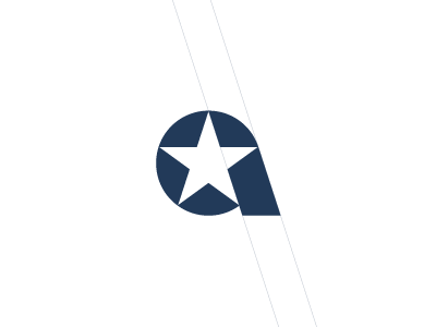 Letter A Star