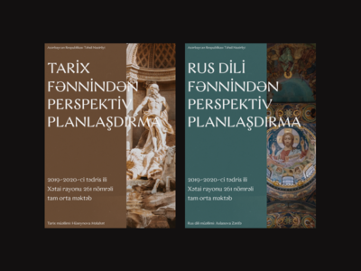 Magazine covers for Historical and Russian subjects for teachers