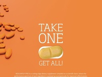 Brochure design for health supplement