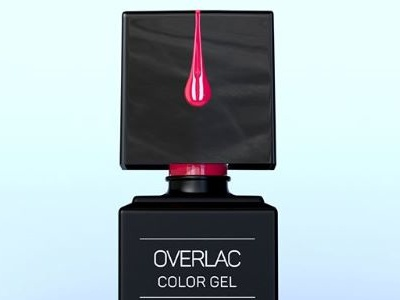 Nailover Overlac Color Gel Series - 3d Modelling, Packshot