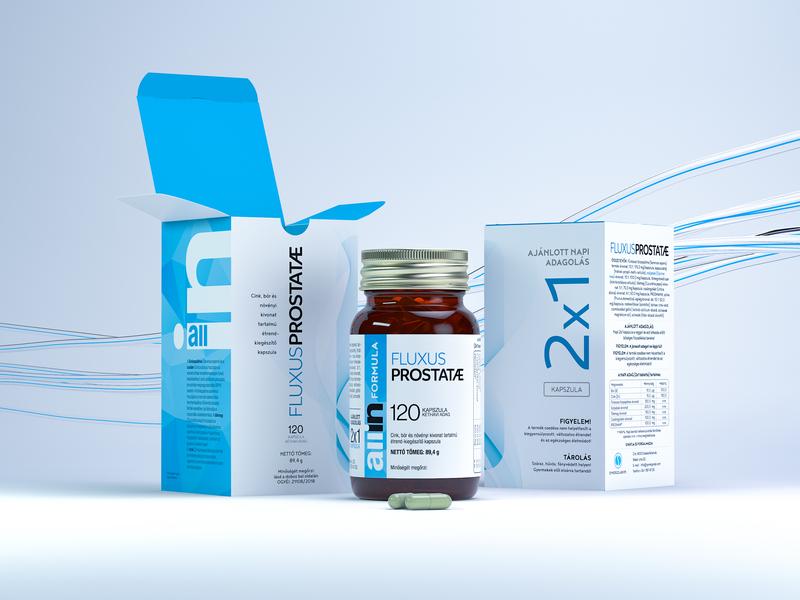 Fluxus package design & presentation packaging design pharmaceuticals label and box design redshift c4d branding 3d rendering visualization