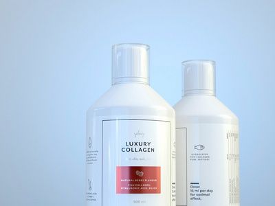 Luxory Collagen -package design