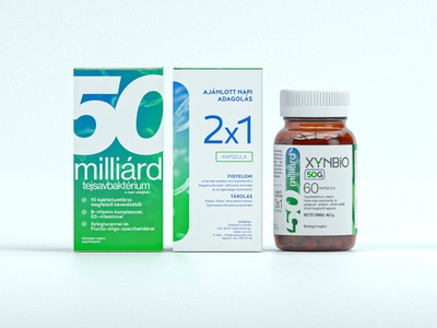 Xynbio Probitoics - Simple Packshot