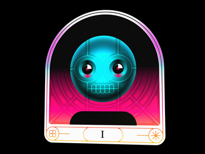 3D Card 3d card hologram illustration icon