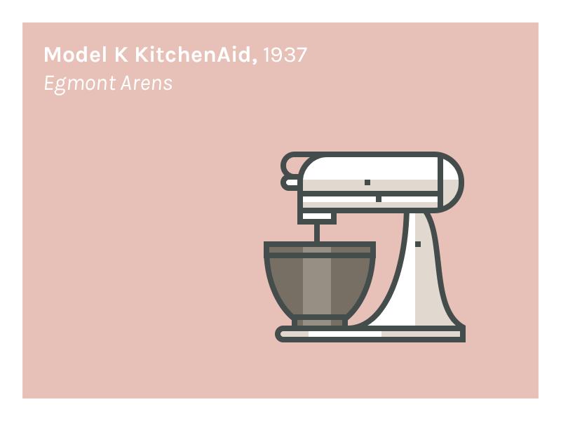 Model K Kitchenaid 1937 By Andre Goncalves Dribbble Dribbble