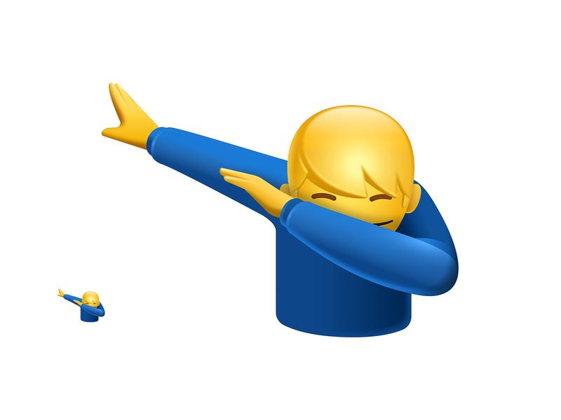 Dab Emoji dab emoji icon