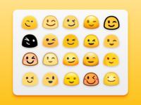 Blob emojis