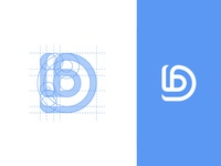 D / B / Dolby / logo design