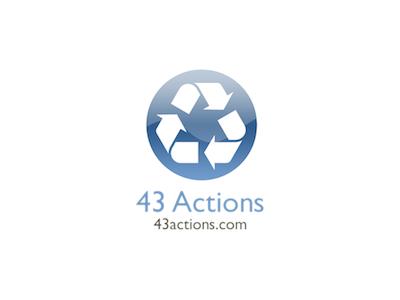 43 Actions Logo web logo