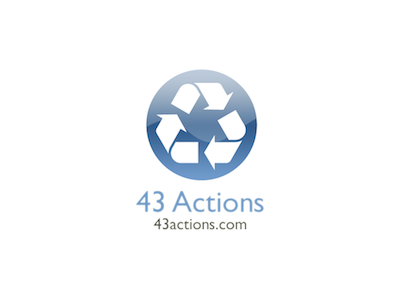 43 Actions Logo web logo