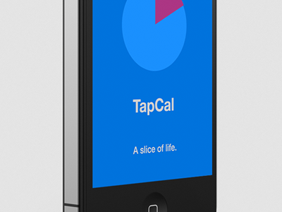 TapCal Splash calendar iphone app splash minimal