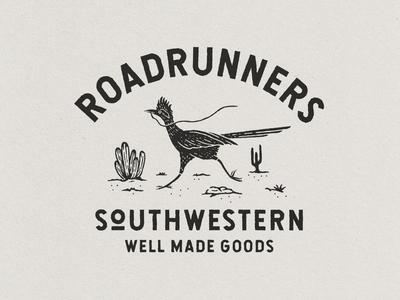 Roadrunners vintage outdoors vintage design design hand drawn branding apparel adventure illustration badgedesign graphic design