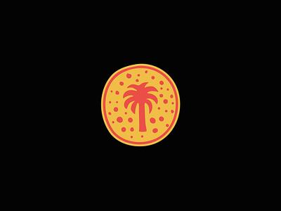 Palmy Palm surfing surf company surf artwork logotype logo design illustration typography branding apparel badgedesign graphic design