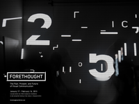 Forethought: Projection Poster
