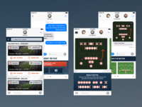 Sports UI for iMessage