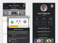 Global Soccer Tournament Mobile App