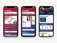 Soccer App – Dashboard
