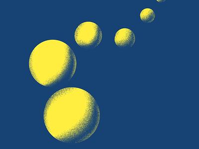 Texture Exercise n.2 illustration duotone procreate texture