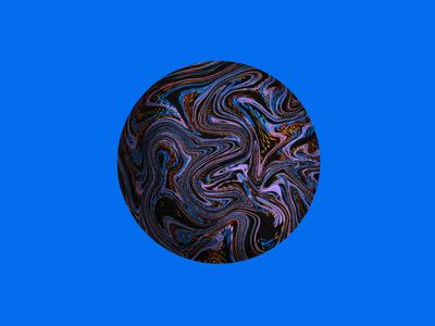Marbling Study #1 brush design illustration textura digital