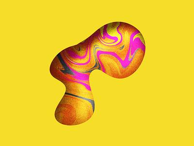 Marbling Study #2 design texture marbling illustration digital