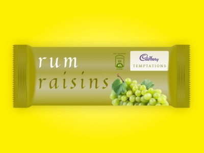 Rum Raisins Chocolate - Temptations