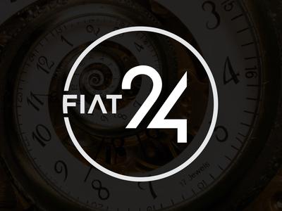 Flat 24 logo