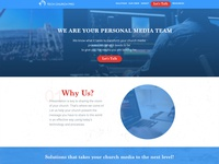 Website design for Tech Church Pro