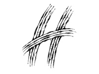 "36daysoftype ""H"""