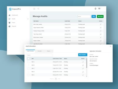 InspectPro - Auditor Inspection Web Application