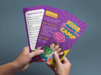 Kids 3 Fold Brochure Design