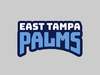 East Tampa Palms Type Logo