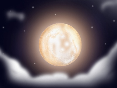 MOOOOOOOOOOOOOON....... dribbble best shot dribbble invite navigation star clouds night daynight moon nature gif branding india colors 2d love vector dribbble design illustration