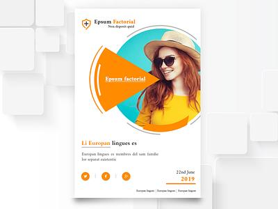 Brochure Design booklet designs fashion branding brochure logo ui gradient illustration