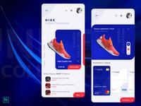 Nike Smart Shoes App Concept