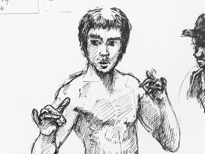 Bruce Lee sketch
