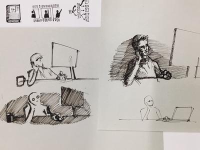 Browsing sketch