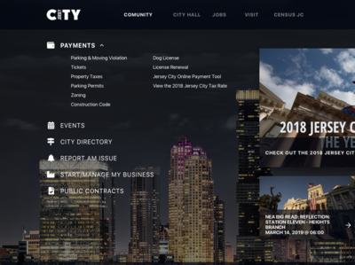 New Jersey City Official Landing Page